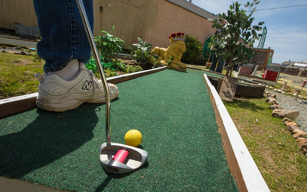 Mini-golf course Troxel Rock Garden