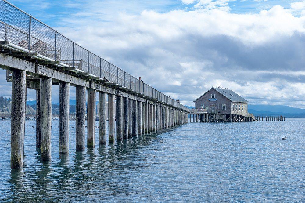 Tillamook Coast Garibaldi boathouse