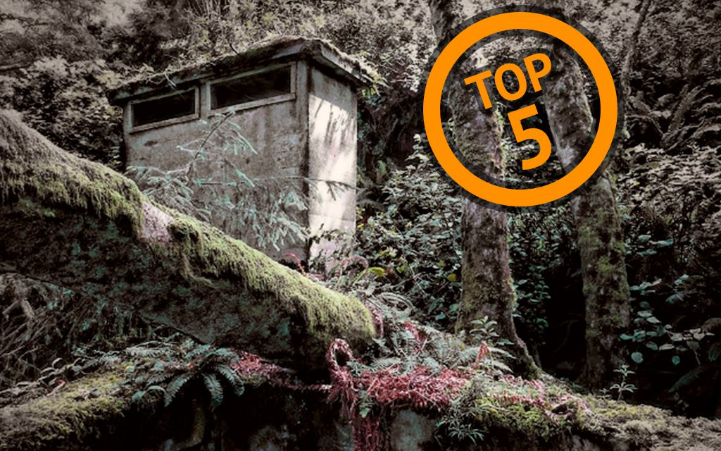 Top 5 Spooky Places on the Tillamook Coast