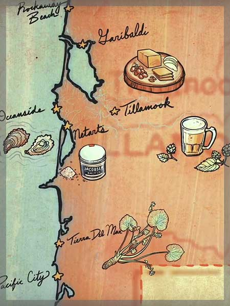 oregon coast culinary contest region map thumb
