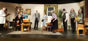 It takes a village to put on a play courtesy Riverbend Players