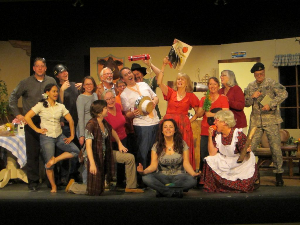 Riverbend Players features a group of veteran actors and stagehands who are eager to help out new recruits courtesy Riverbend Players