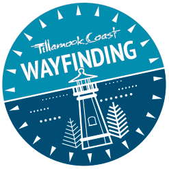 Tillamook Coast wayfinding badge