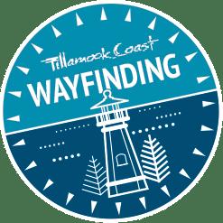 Tillamook Coast wayfinding badge