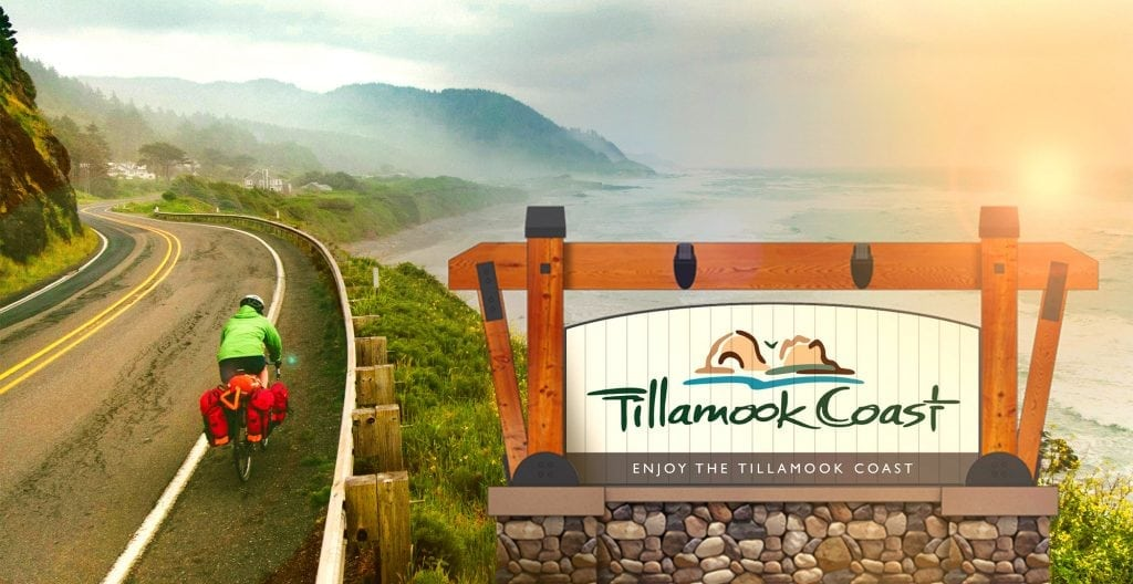 Tillamook Coast gateway sign