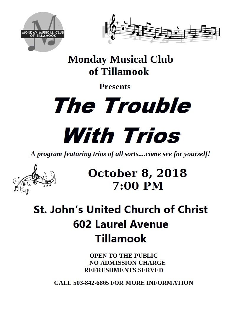 The Trouble With Trios October 2018