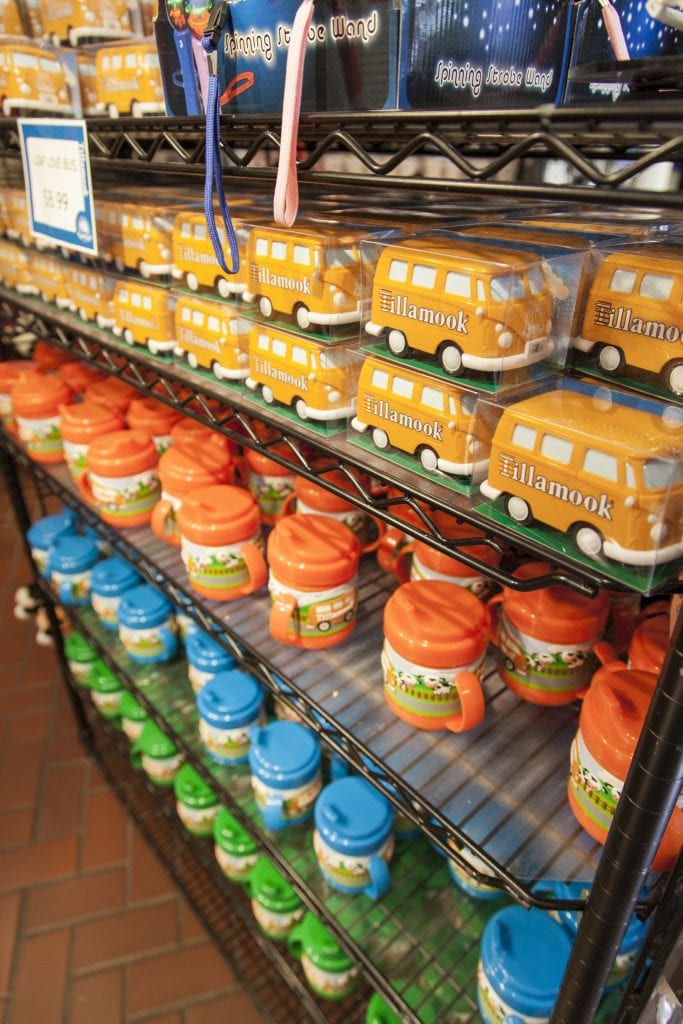 Tillamook cheese souvenirs