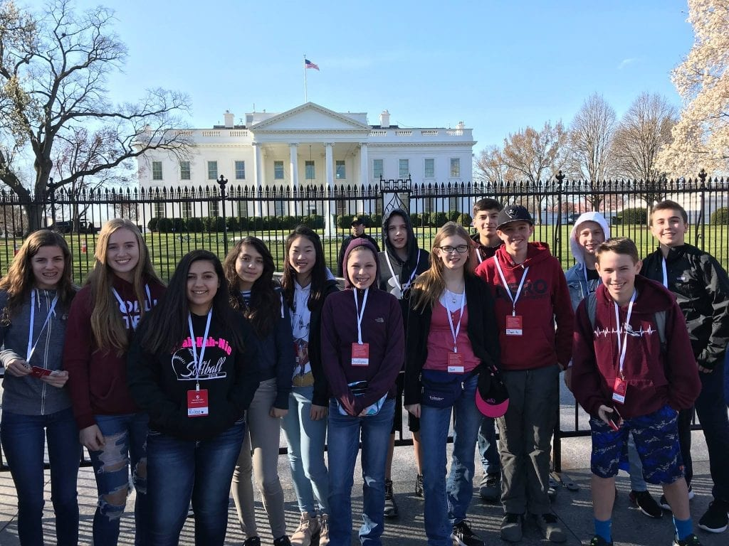 A trip to the nations capital was just one of many programs Mudd Nick Foundation created for kids submitted
