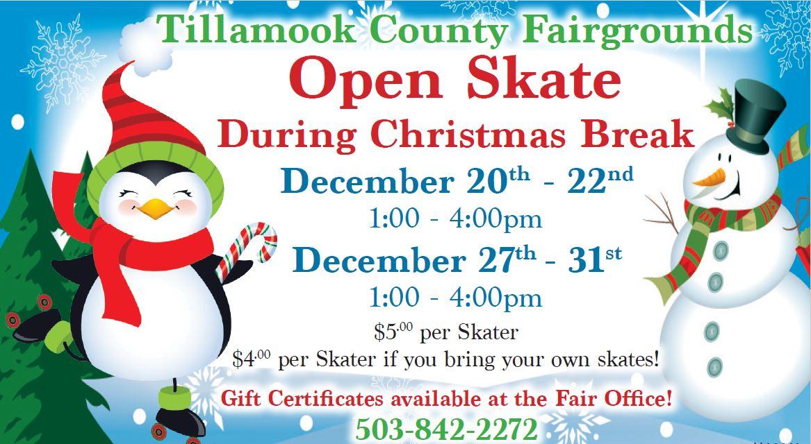 Christmas Open Skate Ad 2019 1