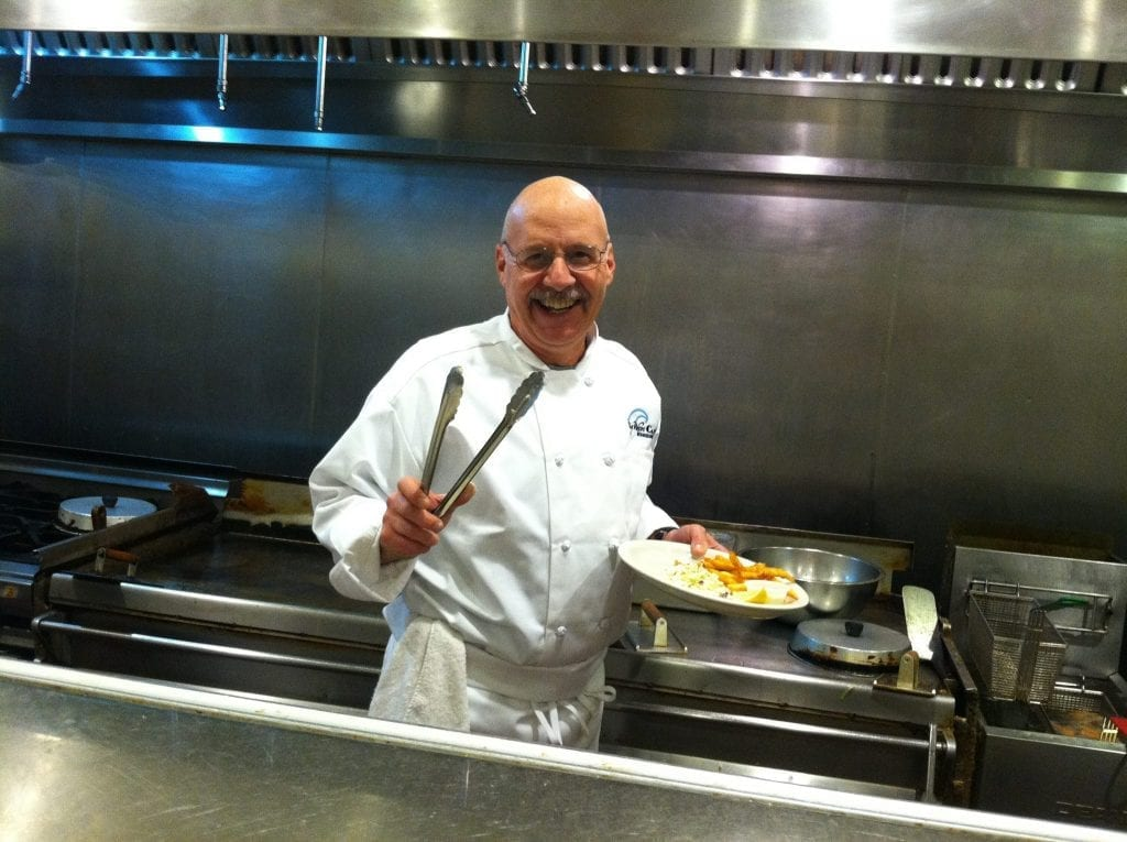 Co owner Brian Williams is a big believer in using fresh local ingredients submitted