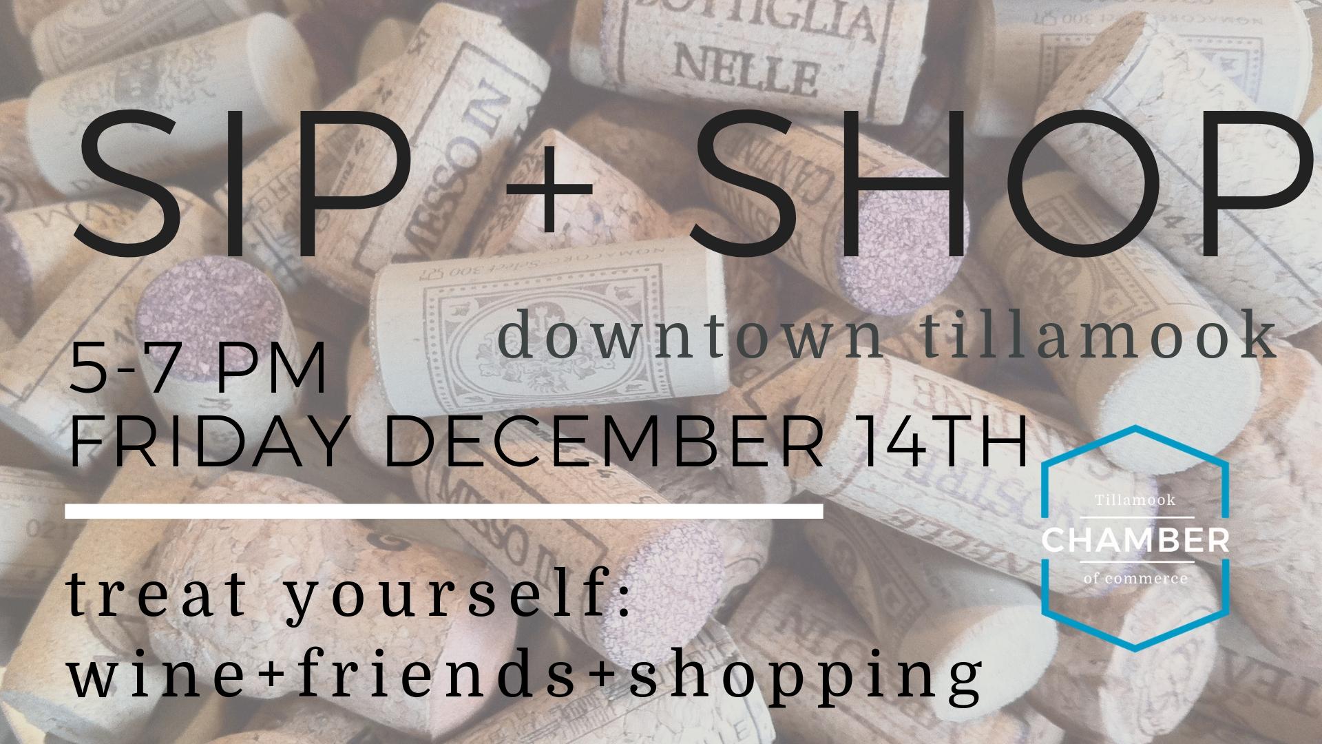 Dec SIP SHOP fb event