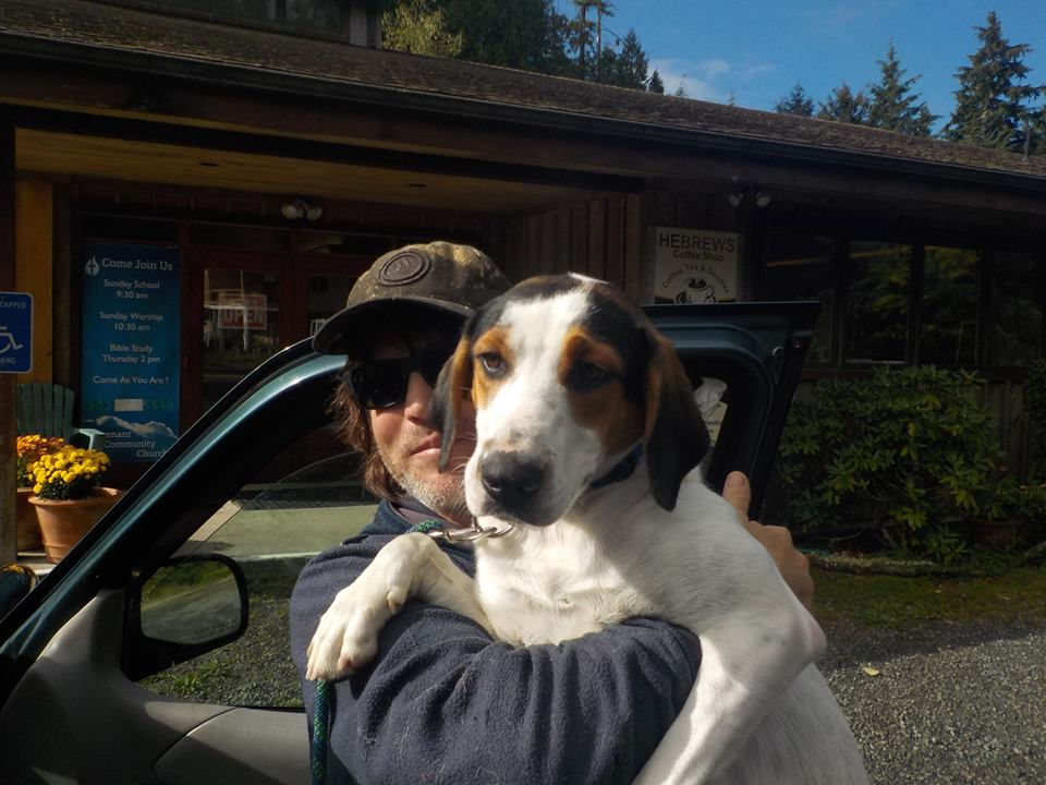 Offering comfort to lost and scared dogs is a big part of what Lee Blackmon does submitted