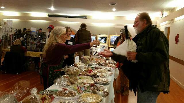 Each winter the Manzanita Womens Club holds a craft and bake sale submitted