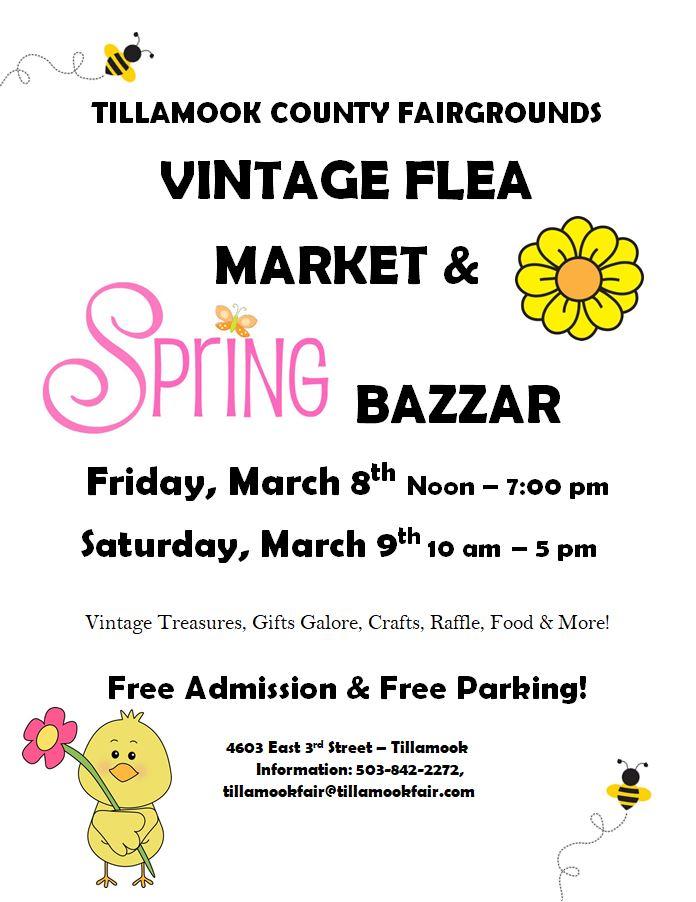 Spring Bazaar 2019 Flyer
