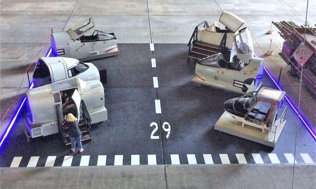 Tillamook Air Museum cockpits