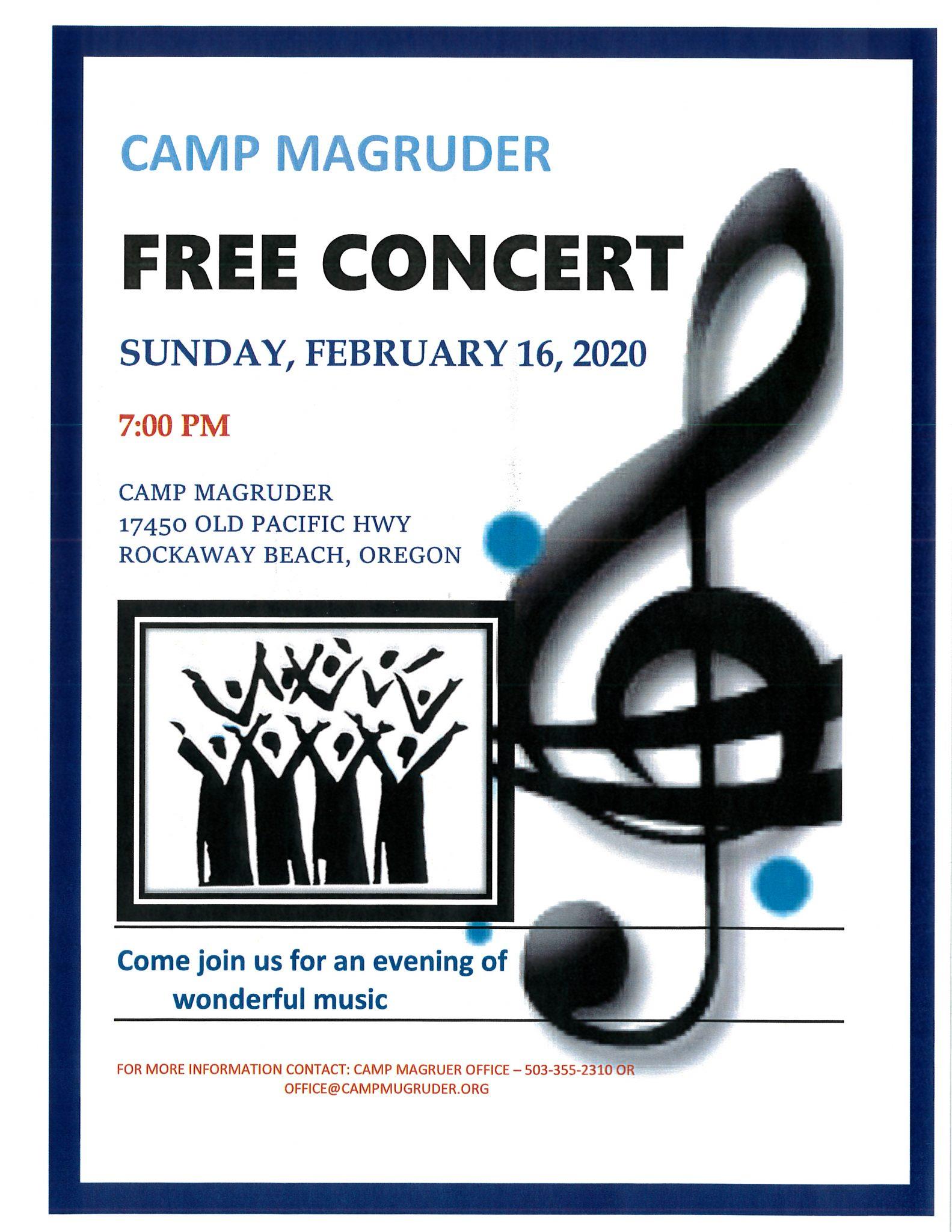 Magruder Free Concert Poster JPEG