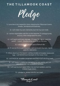 Tillamook Coast Pledge