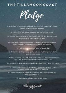 Tillamook Coast Pledge