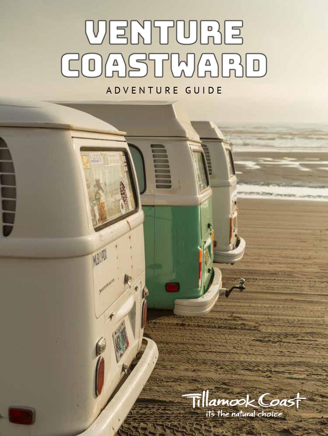 2021 Tillamook Coast Adventure Guide cover