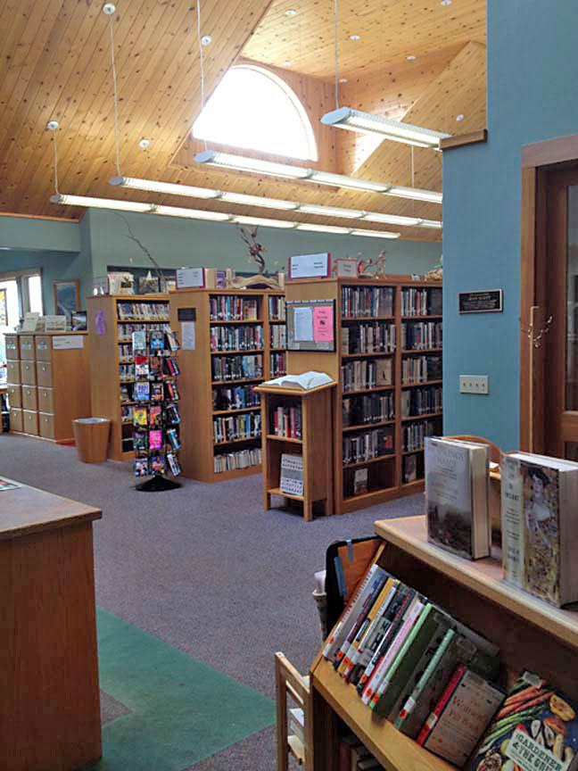 South PC library interior arts