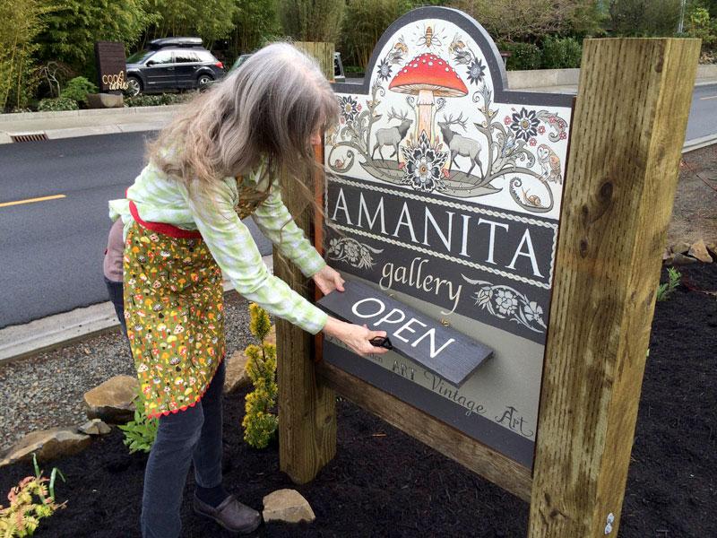 amanita debbie sign arts