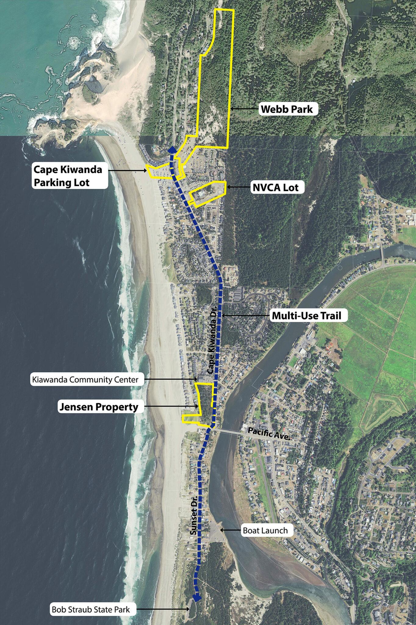 kiwanda corridor map